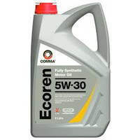 Comma Ecoren 5w30 Fully Synthetic Oil 5l Bottles