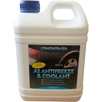 A1 Motorstores 2L Blue Antifreeze & Coolant