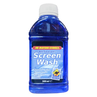 Screen Wash 500ml Concentrate