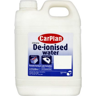 De-Ionised Water 2.5L
