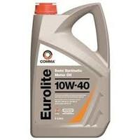 Comma Eurolite 10w40 Semi Synthetic Oil 5l Bottles