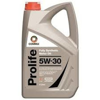 Comma Prolife 5w30 Fully Synthetic Oil 5l Bottles