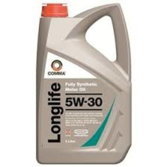Comma Longlife 5w30 Fully Synthetic Oil 5l Bottles