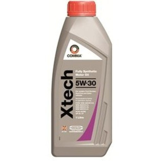 Comma X-Tech 5w30 Fully Synthetic Oil 1l Bottles