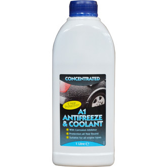 A1 Motorstores 1l Blue Antifreeze & Coolant